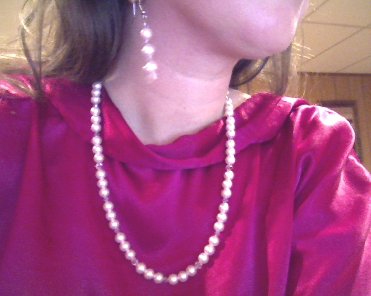 Pearl and Crystal Jewelry Set - Great for weddings!