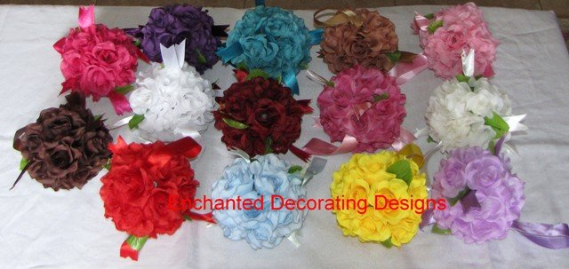 Pomander Ball 5 inch Wedding Flower Decoration Kissing Ball