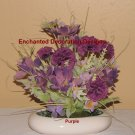 Wedding Flower Carnation Decoration Do It Yourself Floral Centerpiece Kit