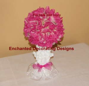 Pomander Ball cherub Candle holder Wedding Flower Decoration Kissing Ball Centerpiece