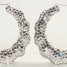 Swarovski Bamboo Earrings