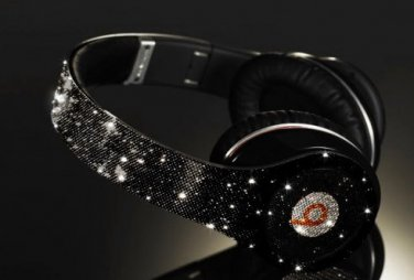 Beats Studio Over Ear Headphones made with  Swarovski Elements