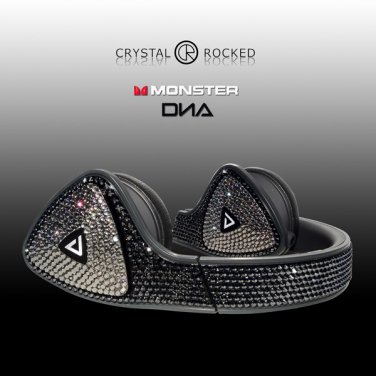 Monster DNA Over Ear Headphones made with Swarovski Elements