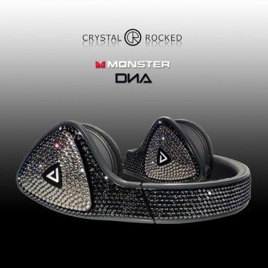 Monster DNA Over Ear Headphones made with Swarovski Elements