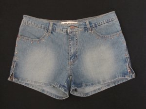 JOE BOXER SHORT DENIM EMBELLISHED SHORTS SIZE 11