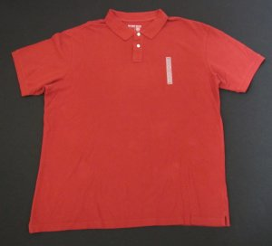 OLD NAVY BIG MENS SHORT SLEEVE PIQUE POLO SHIRT RUST SHADE SIZE XXL