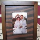"NIB PIER 1 IMPORTS EXOTIC PHOTO FRAME FITS A 3.5"" X 5"" PHOTO DISCONTINUED"