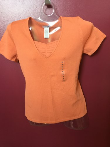 NWT PRETTY EAST 5TH MISSES LAYERED LOOK TOP SIZE MEDIUM