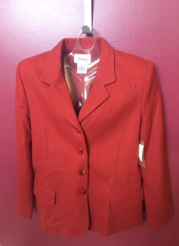 NWT MISSES WORTHINGTON RUST COLOR BLAZER SIZE 12
