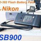 TD-382 Flash Battery Pack for nikon SB-900 SB900