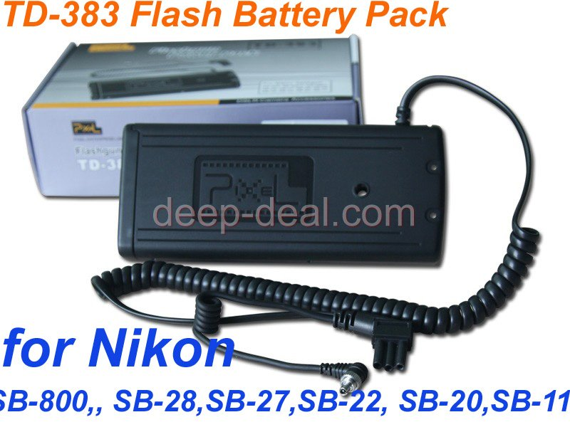 Flash Battery Pack for nikon SB-25 SB-24 SB-22 SB-20 SB-11