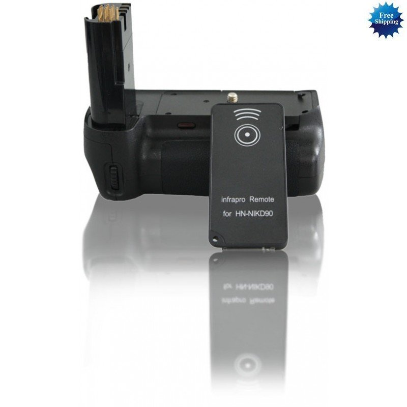 Battery Grip for Nikon D80/D90 + 2x EN-EL3E