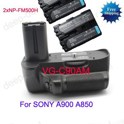 VG-C90AM Battery Grip for Sony A900 A850+2 NP-FM500H
