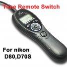 Timer Remote Shutter Release for Nikon D70s D80