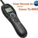 Timer Remote for CANON 50D 40D 30D 5D II 7D 1D