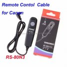 Remote Switch for canon EOS 7D 5DII 5D 50D 40D RS-80N3