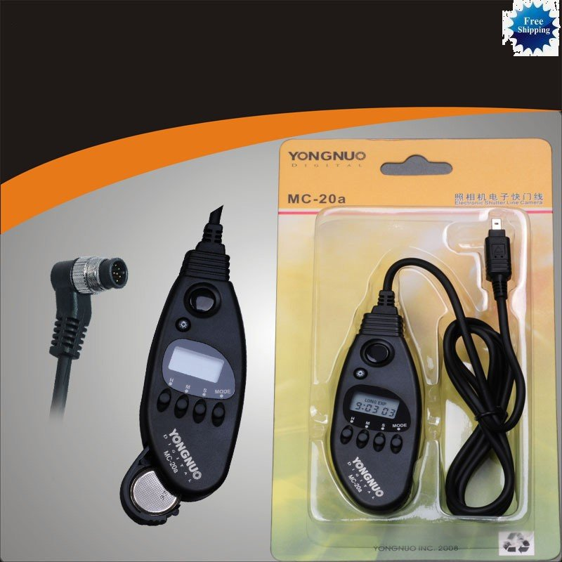 Timer Remote for FIJI S3 S5 Pro Nikon D2x D3 D3x