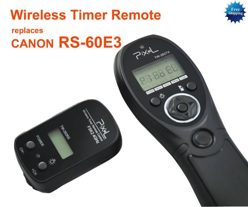 Wireless Timer Remote for CANON G10 G11 T2i T1i XSi XTi