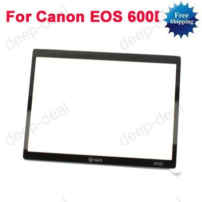 GGS LCD Protector glass for CANON EOS 600D Rebel T3i