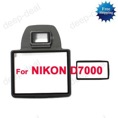 Main LCD Info LCD Protector glass for NIKON D7000