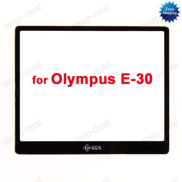 GGS LCD Screen Protector glass for Olympus E-30 E30