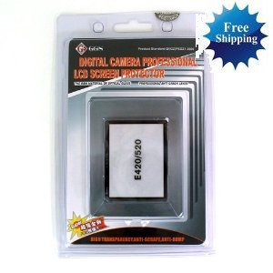 GGS LCD Screen Protector glass for OLYMPUS E-520 E-420