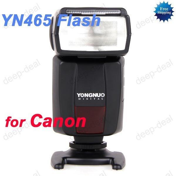 YN465 E-TTL Flash Speedlight CANON 550D G12 G11 G10
