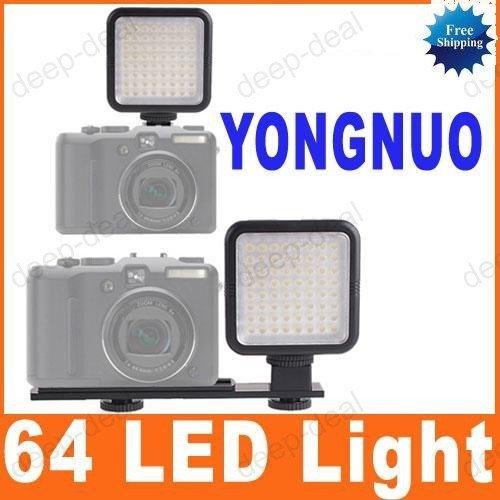 SYD-0808 64 LED Video Light for Canon Nikon Sony