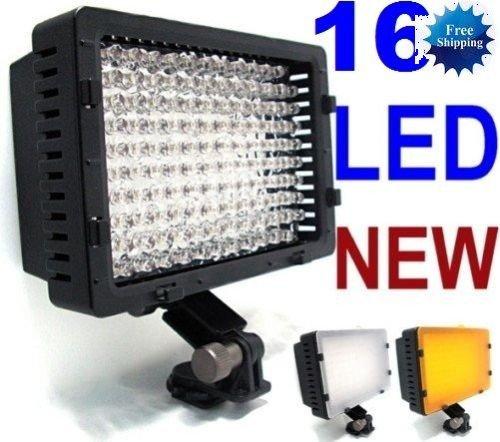 CN-160 LED Video Camera 4 Way-Hot Shoe Lamp Light