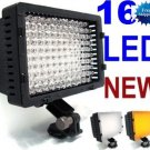 CN-160 LED Video Camera 4 Way-Hot Shoe Lamp Light