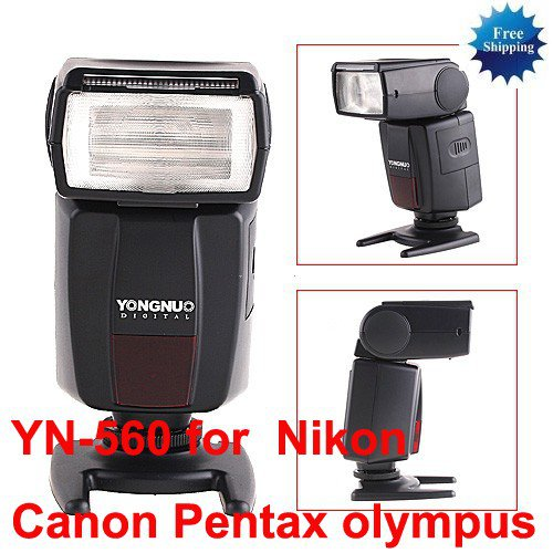 YN-560 Flash Speedlite for Nikon D5000 D3000 D1000 D90