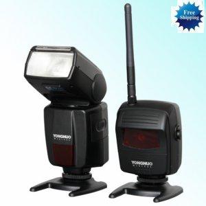 Wireless TTL ETTL iTTL Flash YN460-RX YN460-TX