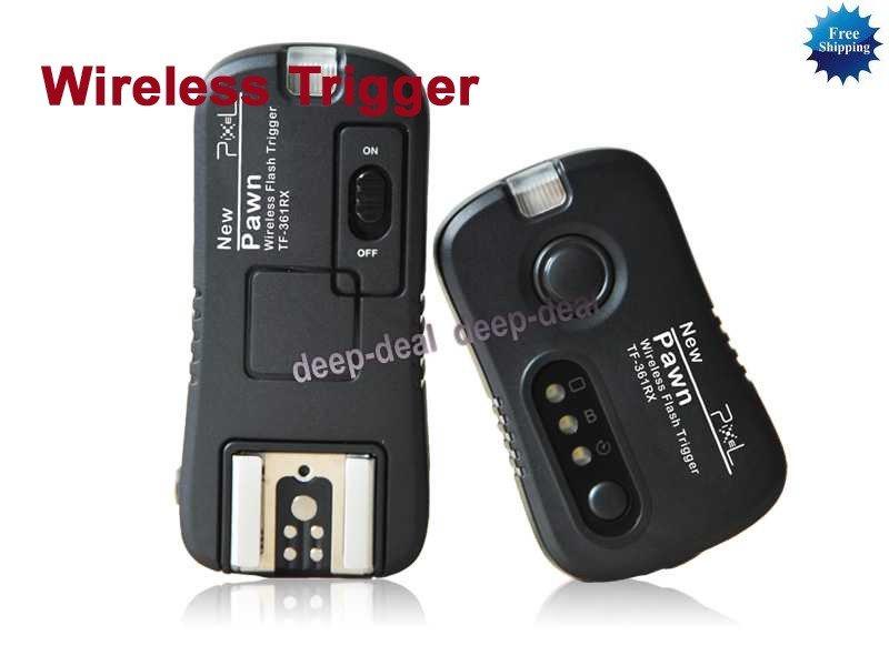 Wireless Flashgun Remote Trigger TF-361 Canon 430EX
