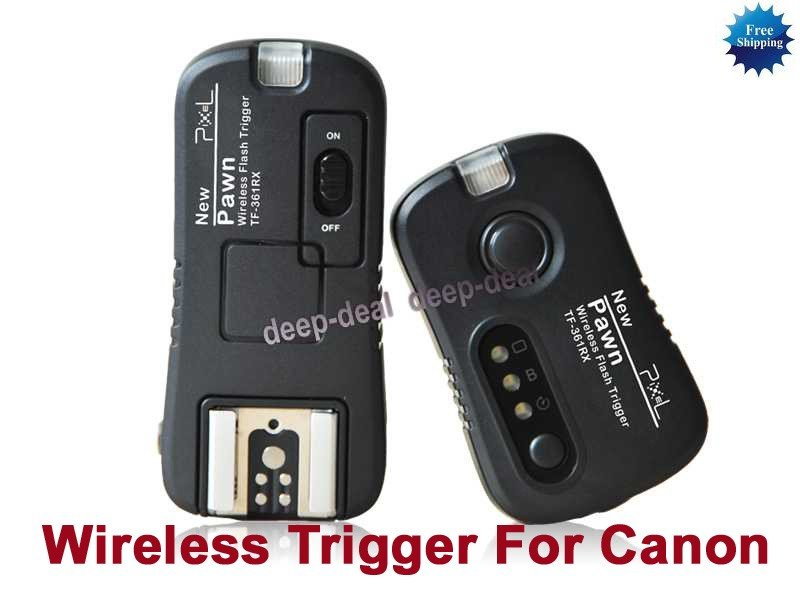 Wireless Flashgun Remote Trigger TF-361 Canon 430EX II