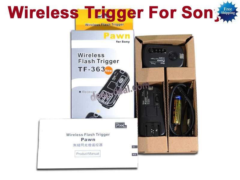 Pixel TF-363 Wireless Flash Trigger for Sony F42AM F36AM