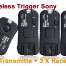 Pixel TF-363 Flash Trigger for Sony with 3 Receivers