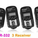 Flash Trigger with 3 Receiver for Canon E-TTL