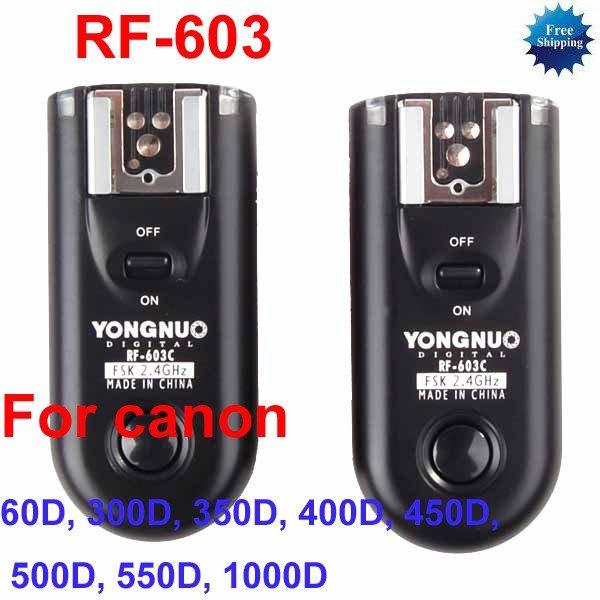 RF-603-C1 Radio Flash Trigger for Canon