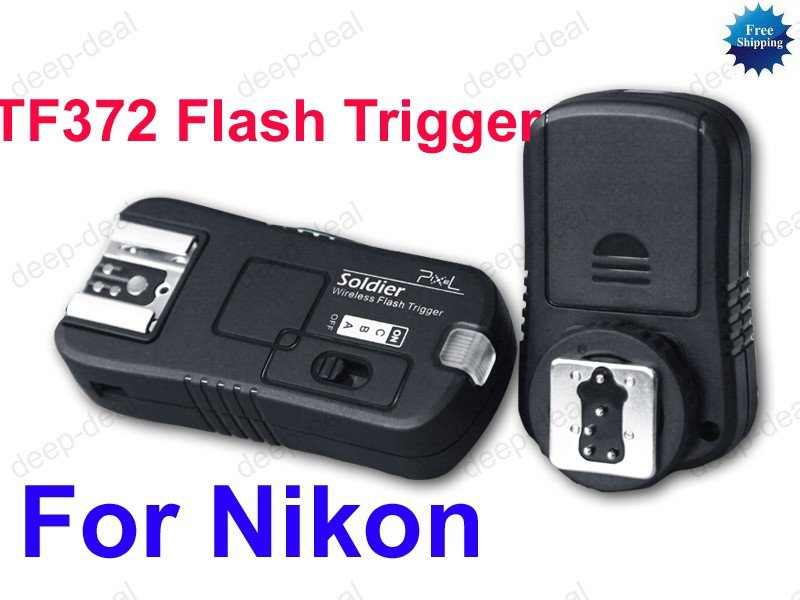 TF372 Flash Trigger for nikon D80s D70 D700 D300 D200 D90