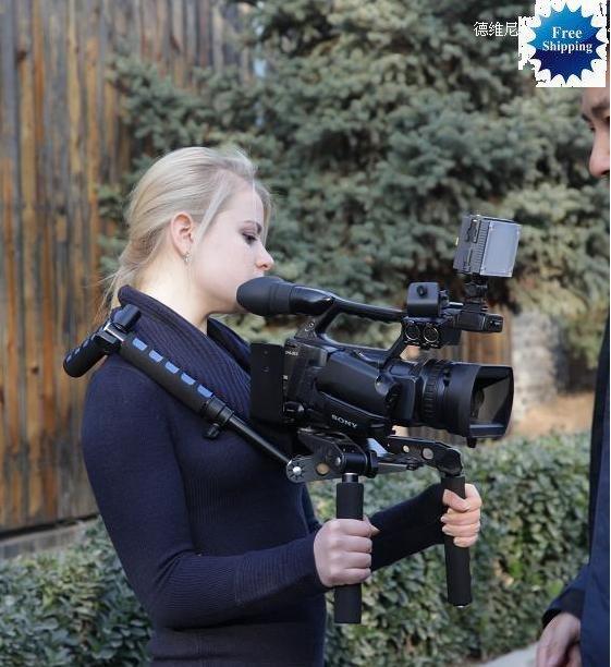 DSLR Rig Shoulder Mount for DV Camera Sony nikon Canon 5D 7D