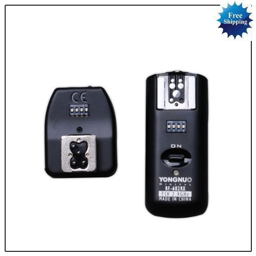 Wireless Flash Trigger Receiver and Shutter Remote for Canon 1000D