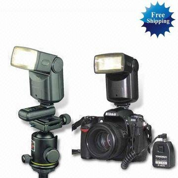 Wireless Flash Trigger Receiver and Shutter Remote for Canon EOS5D