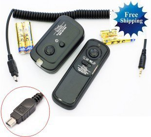 Wireless Shutter Remote for Nikon D3100 D90
