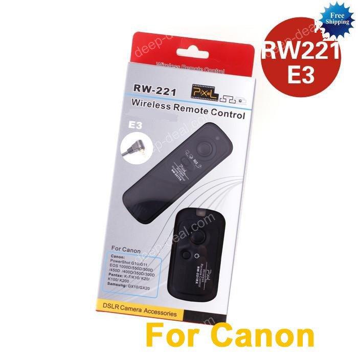 RW-221 Wireless Shutter Remote CANON 550D 500D 450D 60D