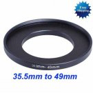 35.5mm to 49mm 35.5-49 mm Step Up Filter Ring Adapter