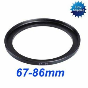 67mm-86mm 67-86 mm 67 to 86 Step Up Ring Filter Adapter