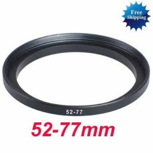 52mm-77mm 52-77 mm 52 to 77 Step Up Ring Filter Adapter