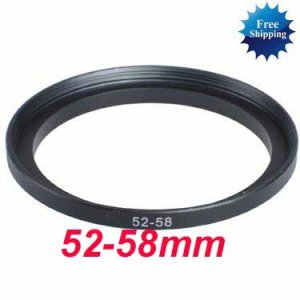52mm-58mm 52-58 mm 52 to 58 Step Up Ring Filter Adapter