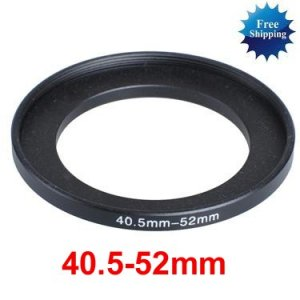 40.5mm-52mm 40.5-52 mm 40.5 to 52 Step Up Ring Filter Adapter