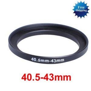 40.5mm-43mm 40.5-43 mm 40.5 to 43 Step Up Ring Filter Adapter